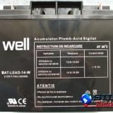 Acumulator plumb acid 12V 17AH, Well