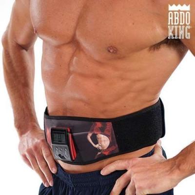 Centură de Electrostimulare Musculară Abdo King foto