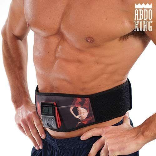 Centură de Electrostimulare Musculară Abdo King foto mare