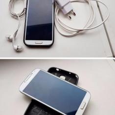 Vand SAMSUNG S4 alb - impecabil - Telefon mobil Samsung Galaxy S4, 16GB, Vodafone, Single SIM