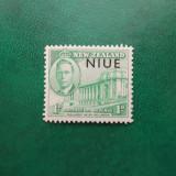 Noua Zeelanda Niue colonii George VI supratipar - nestampilat MNH