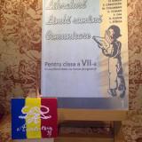"""Fl. Ionita - Literatura Limba romana Comunicare pentru cls a VII a Sem I """"A3099"""" - Manual scolar, Clasa 7"""