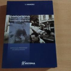 PANORAMA PRESEI ROMANESTI CONTEMPORANE-22 DECEMBRIE 1989-DECEMBRIE 2005-I. HANGIU