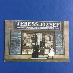 Ocna Mures - Magazin - Carte Postala Muntenia 1904-1918, Circulata, Fotografie