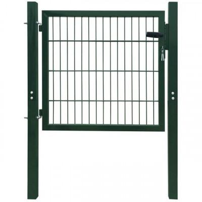 Poartă 2D pentru țarc, 106 x 150 cm, verde foto