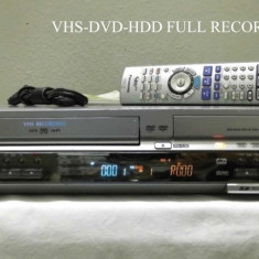 COMBO PANASONIC DVD-HDD-VHS RECORDER - DVD Recordere