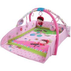 Centru de joaca cu sunete si lumini Scufita Rosie - Sun Baby - Jucarie zornaitoare