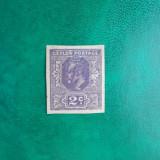 Ceylon colonii regele Edward VII 2c - nestampilat nedantelat MH