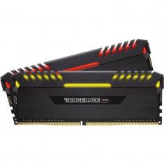Memorie Corsair Vengeance LED RGB 32GB DDR4 2666 MHz CL16 Dual Channel Kit - Memorie RAM