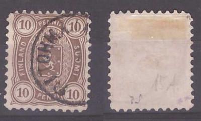 Finlanda 1881 - Mi15Ay stampilat foto