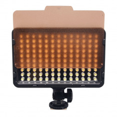 Lampa Foto - video cu Led model LE-130 A cu 2 fete interschimbabile - Lampa Camera Video