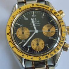 Ceas autentic Omega speedmaster cronograf automatic -aur si otel - Ceas barbatesc, Mecanic-Automatic