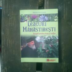 Leacuri manastiresti Terapii pentru trup si suflet - Mariana Borloveanu - Carte Medicina alternativa