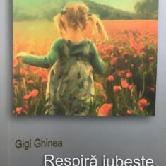 RESPIRA IUBESTE SI TACI - Gigi Ghinea - Carte dezvoltare personala