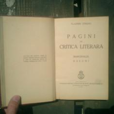 Pagini de critica literara - Vladimir Streinu