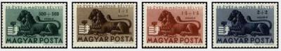 Ungaria 1946 - 75 ani de la primul timbru unguresc, serie neuzat foto