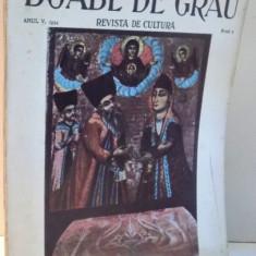 BOABE DE GRAU, NR. 2, ANUL V, 1934