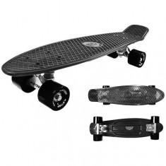 Skateboard All Age - Kidz Motion - Negru, Penny board