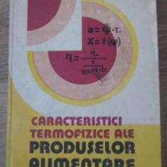 Caracteristici Termofizice Ale Produselor Alimentare - Gh. Iliescu, Cornelia Vasile, 397793 - Carte Retete culinare internationale