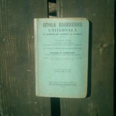 Istoria bisericeasca universala cu elemente de catehism si liturgica - D. Georgescu