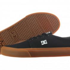 Tenisi DC Trase TX Black/Brown - Tenisi barbati Dc Shoes, Marime: 43, Culoare: Maro
