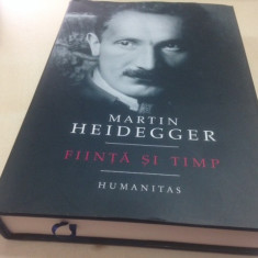 MARTIN HEIDEGGER, FIINTA SI TIMP. TRADUCERE DIN GERMANA G. LIICEANU SI C. CIOABA - Filosofie