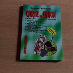 CARTE DE GHICIT-CRISTINA CONSTANTIN