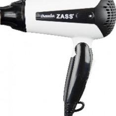 Uscator de Par Zass ZHD 01 1200W Alb/Negru, 2