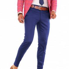 Pantaloni - albastrii - pantaloni barbati - COLECTIE NOUA 8646 B2, Marime: 29, 31, 32, 33, Culoare: Din imagine