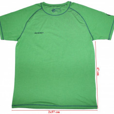 Tricou Mammut, Dri Release with Fresh Guard, barbati, marimea XL - Imbracaminte outdoor