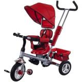 Tricicleta Confort Plus - Sun Baby - Rosu - Tricicleta copii