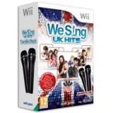 We Sing Uk Hits Cu 2 Microfoane Nintendo Wii - Jocuri WII