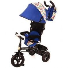 Tricicleta Tobi Venture - Kidz Motion - Albastru - Tricicleta copii