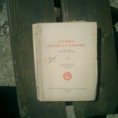 Istoria bisericii romane Manual pentru institutele teologice vol.1 pana la 1963 - Gh. I. Moisescu