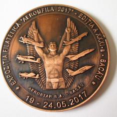 Medalia Smaranda Braescu 120 ani de la nastere,diametrul=60 mm,greutate=72 gr.