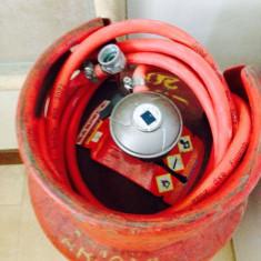 Butelie rosie cu regulator rapid + furtun - ULTIMA BUCATA LA BANII ASTIA!!! - Aragaz