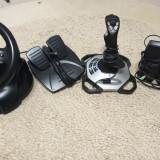 Vand volan cu pedale, joystick si boxe Logitech