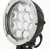 Proiector LED Auto Offroad 60W 12V-24V 3500 Lumeni Rotund si Flood Beam, Universal