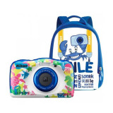 Aparat foto compact Nikon Coolpix W100 13.2 Mpx zoom optic 3x subacvatic Backpack Kit Marine - Aparate foto compacte