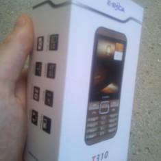 Telefon E Boda T310, maro - Telefon MyPhone, <1GB, Neblocat, Single core, 32 MB