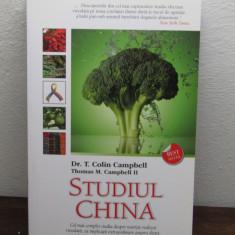 STUDIUL CHINA. CEL MAI COMPLET STUDIU ASUPRA NUTRITIEI - Carte Alimentatie