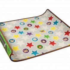 Saltea Educativa cu 2 Fete pentru Copii, Margini tesute, Material: XPE, Dimensiuni: 1.6m*1.2m*1.0cm - Cana bebelusi