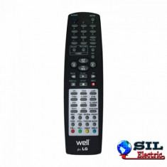 Telecomanda universala LCD LG, Well