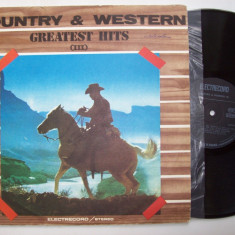 Disc vinil COUNTRY & WESTERN - Greatest hits III (ST - EDE 02922) - Muzica Country electrecord