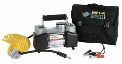 Compresor cu doi cilindri 12v -compresor auto-Compresor Auto Umflat Roti- foto