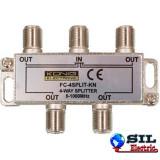 Distribuitor semnal TV 4 cai 862 Mhz, Konig