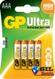Baterie alcalina Ultra GP R3 (AAA) 4 buc/blister, G&P