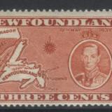 Canada 1935 Newfounland colonii George VI - nestampilat MH