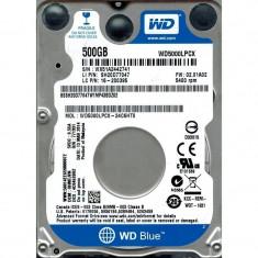 "HDD intern notebook WD 2.5"", 500GB, Blue, SATA3, 5400RPM, 8MB, 6.8mm grosime, w/ AdvFormat - HDD laptop"
