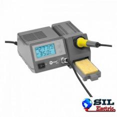Statie de lipit digitala, temperatura reglabila 150-450 grade Fixpoint